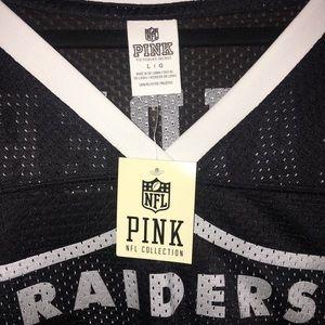 Victoria's Secret NFL collection Raiders jersey